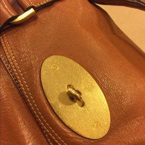Mulberry Alexa Oak Soft Buffalo Leather Satchel